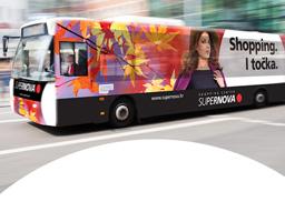 Uvedena besplatna autobusna linija za Supernovu
