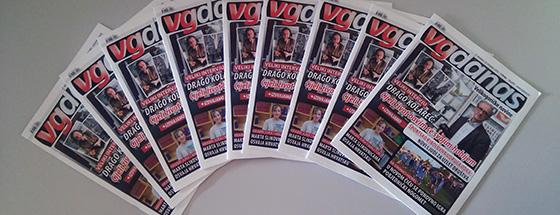 Novi broj VGdanas novina